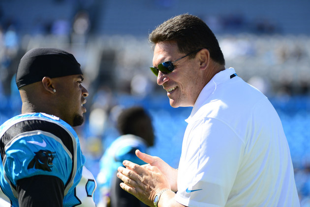 Coaches Heat Index – Ron Rivera's Panthers team has won four co…