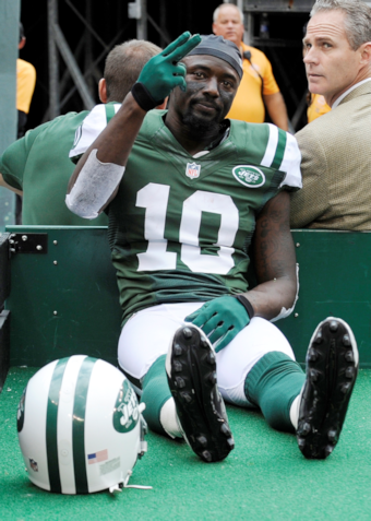 Report: Santonio Holmes is probably done for the season