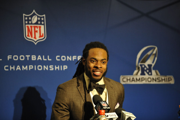 Seahawks cornerback Richard Sherman equates being called a 'thu…