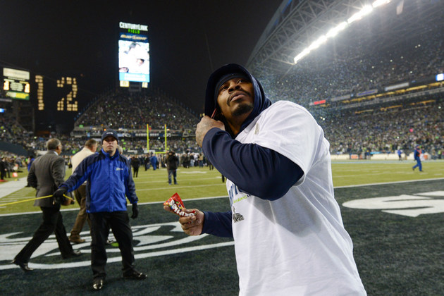 Seahawks' Marshawn Lynch reportedly signed endorsement deal wit…