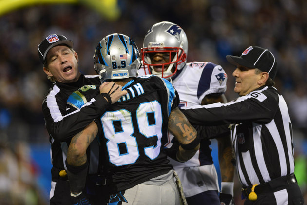 Panther receiver Steve Smith's message to Aqib Talib: 'Ice up, …