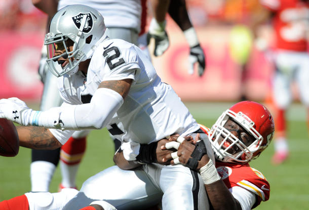 Raiders quarterback Terrelle Pryor believes his squad will make…
