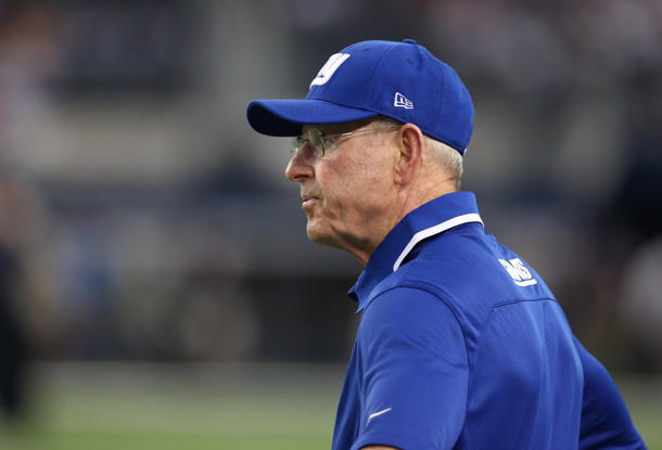 Giants coach Tom Coughlin's brother dies after sudden fall out …