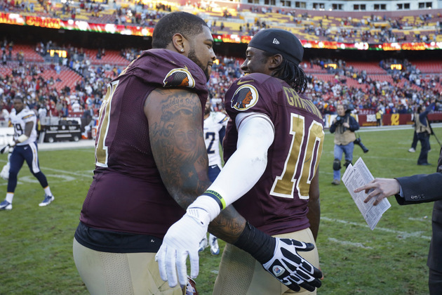 Washington offensive lineman Trent Williams says an NFL officia…