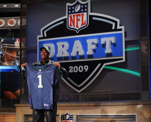 Aaron Curry, once the fourth pick of the NFL draft, says he is …