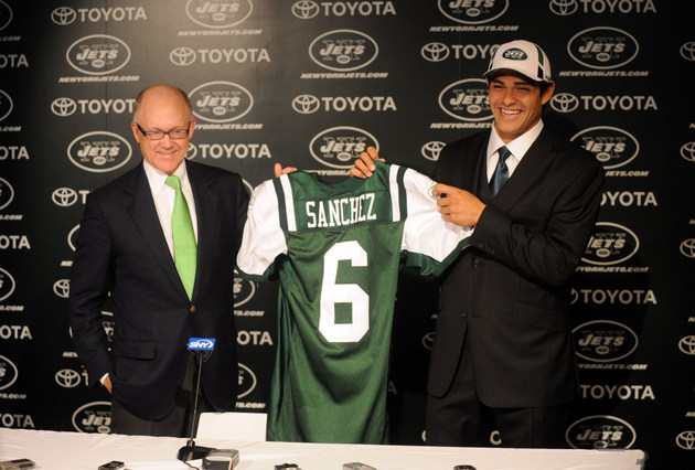 Jets owner seems to blame Mark Sanchez, not Rex Ryan, for Sanch…