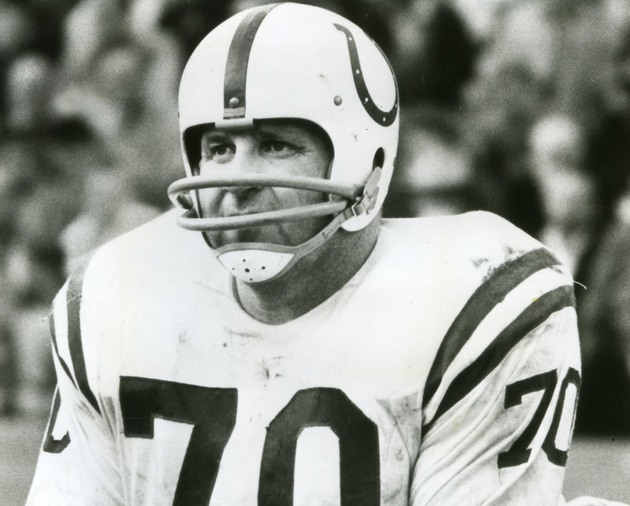 Art Donovan, hall of fame defensive tackle for Baltimore Colts,…