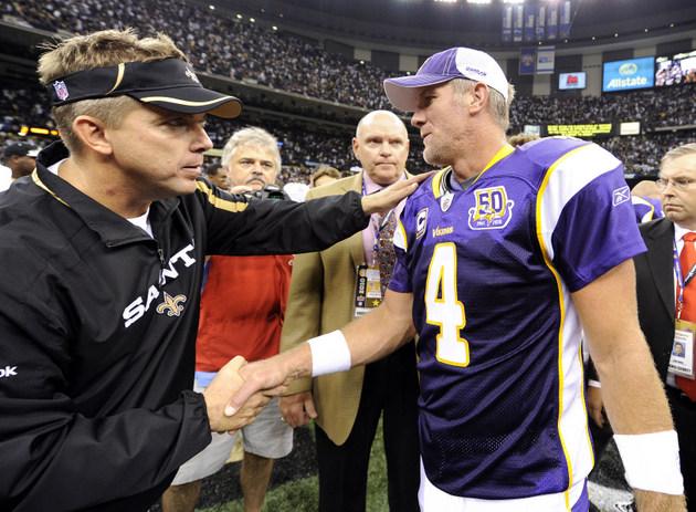 Brett Favre, once a target of the Saints' bounty program, offer…