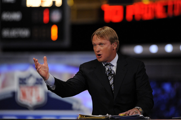 Jon Gruden says he would trade a first-round pick to get Kirk C…