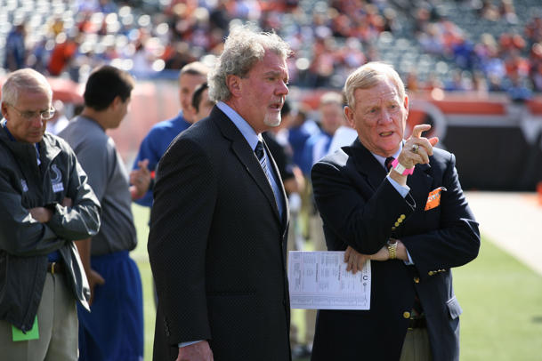 Former Colts GM Bill Polian defends his record after hearing Ji…