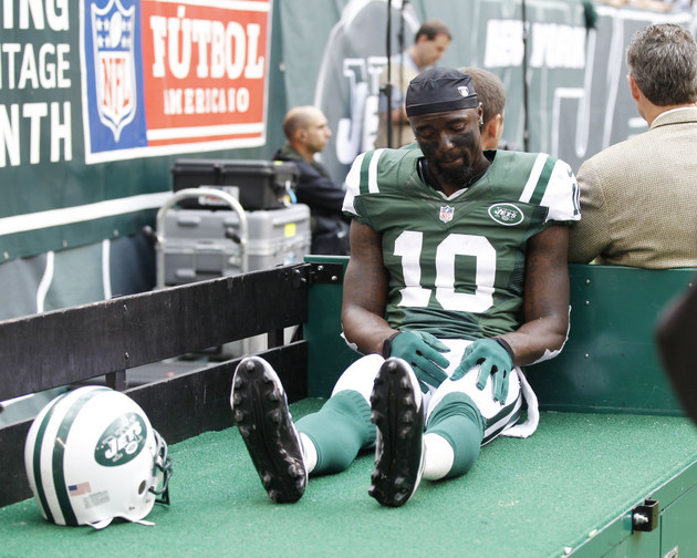 Santonio Holmes isn't sure he'll play Week 1, but New York Jets…