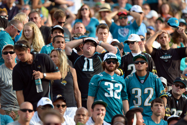 The 0-3 Jaguars are offering free beer when you buy a ticket to…