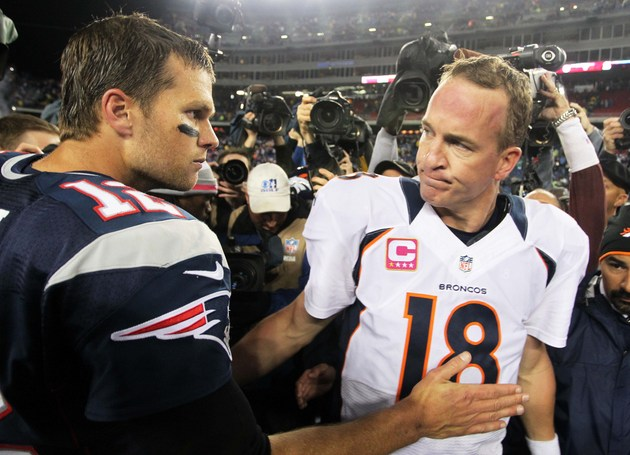 Game of the Week: Who's better, Peyton Manning or Tom Brady?