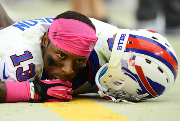 Bills receiver Stevie Johnson says no Patriots player can stop …