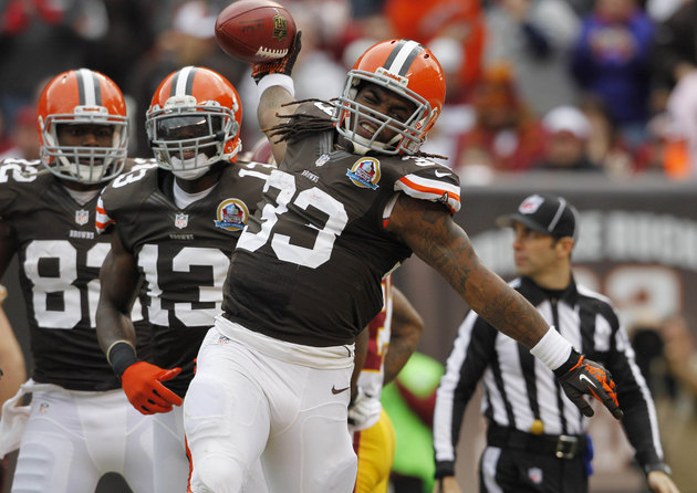 Cleveland Browns OC Norv Turner thinks Trent Richardson is comp…
