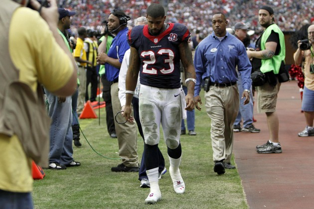 Arian Foster's slow healing is a major concern for the Houston …