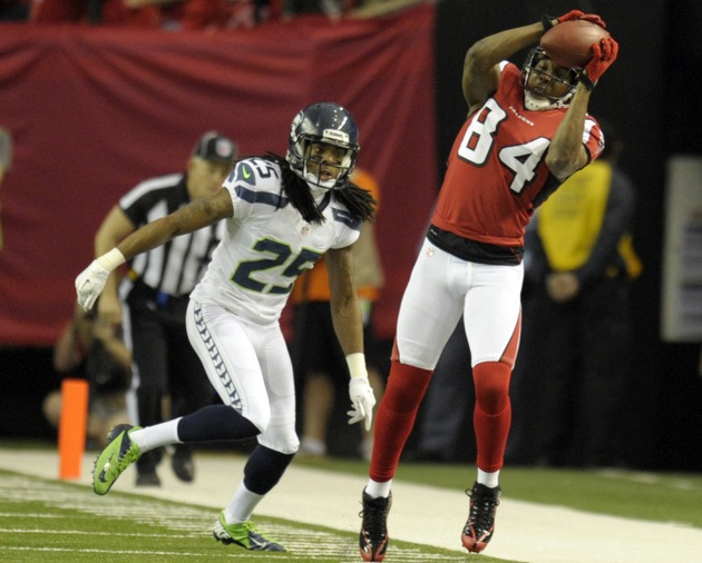 Richard Sherman on facing Roddy White: 'What challenge?'