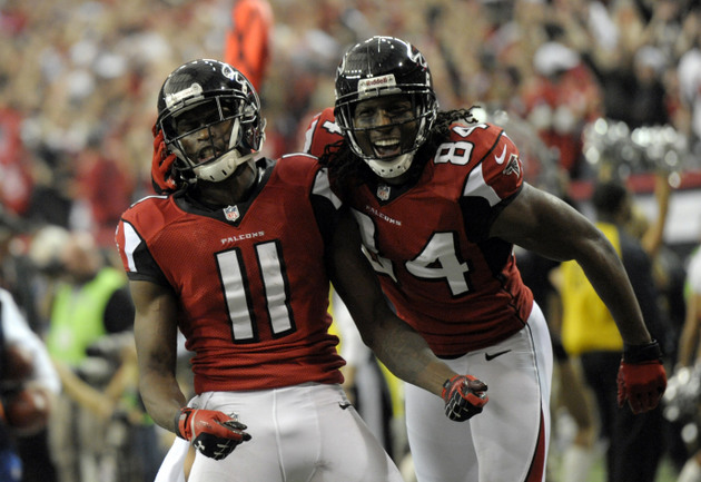 Week 2 NFL injury report: Roddy White, Julio Jones listed as qu…