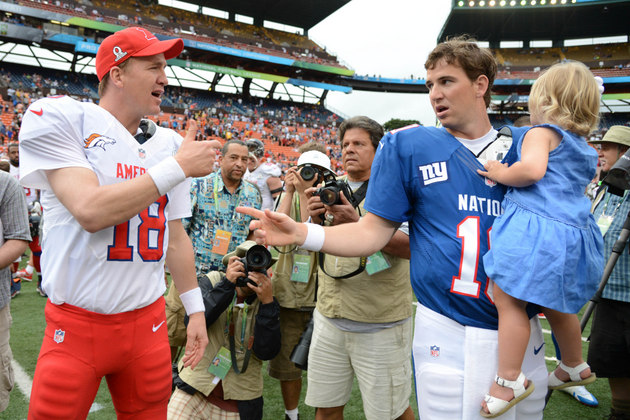 Tiki Barber says Eli Manning is better than brother Peyton, whi…