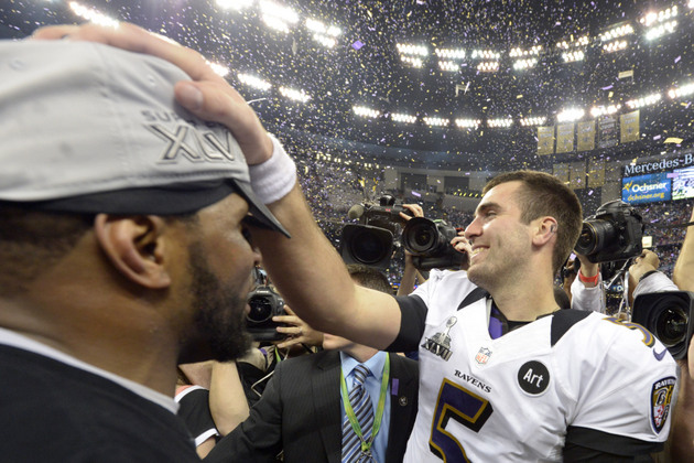 Ravens QB Joe Flacco says Ray Lewis 'knows better' after former…