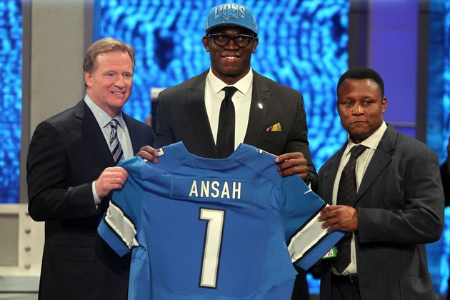 Ziggy Ansah's 3D glasses are the NFL draft's first fashion stat…