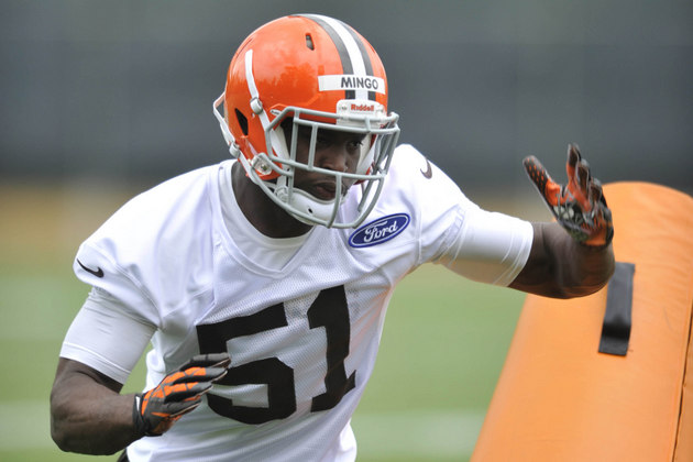 Surgeon speculates Barkevious Mingo could miss a few weeks with…