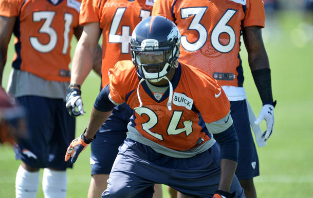 Report: Broncos cornerback Champ Bailey ruled out of Thursday's…