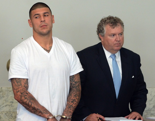 Report: Aaron Hernandez was in SUV that circled 2012 homicide v…