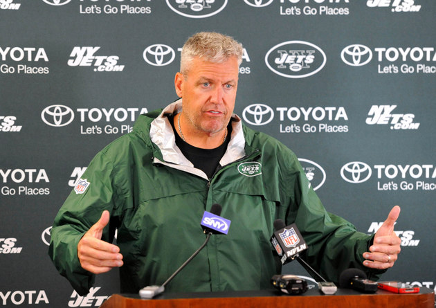 Rex Ryan tells New York Jets fans who booed Mark Sanchez to mov…