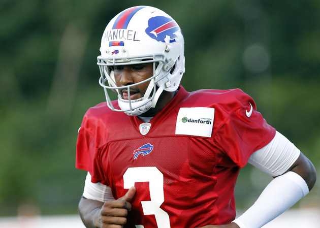 Tuel Time canceled, Buffalo Bills announce that EJ Manuel will …