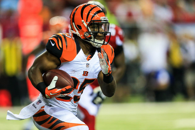 Giovani Bernard lives simple rookie life, including driving his…