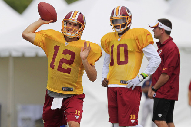 Redskins planning to start Kirk Cousins over Robert Griffin III…