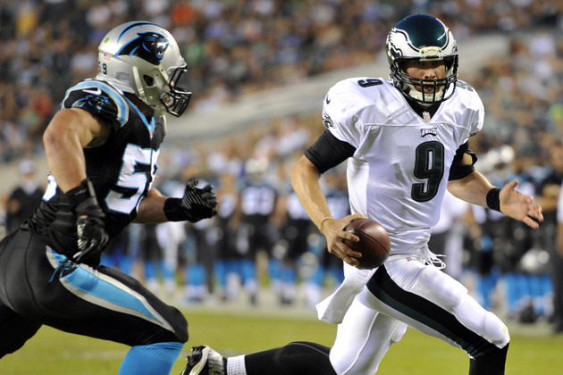 Michael Vick continues to play well, while Nick Foles has one b…