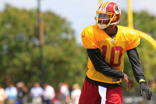 Robert Griffin III expected to start for Washington Redskins We…