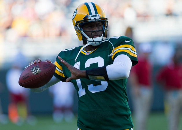 Vince Young throws first touchdown in NFL game since 2011 durin…