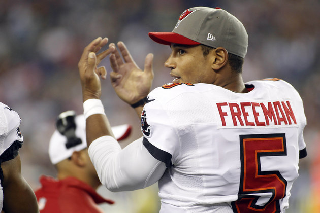 Report: Buccaneers quarterback Josh Freeman will seek trade