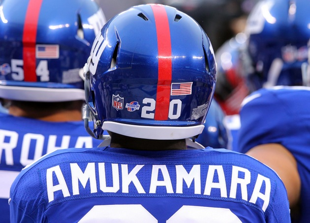 New York Giants cornerback Prince Amukamara says he's known as …