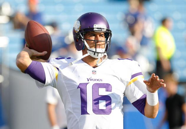Matt Cassel to start at quarterback for Vikings because Christi…