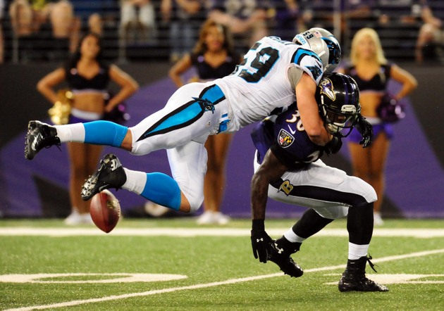 Carolina Panthers linebacker Luke Kuechly puts on quite a show …