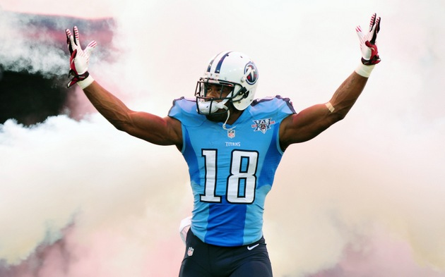 Titans offensive coordinator: Time to 'reassess' Kenny Britt's …
