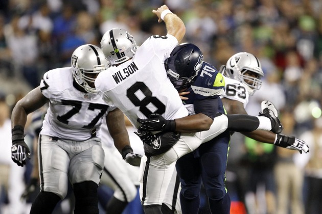 Oakland Raiders cut QB Tyler Wilson; Chris Kluwe too?