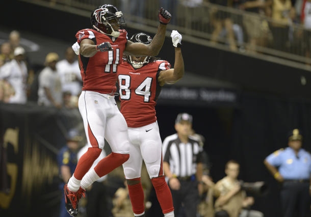 NFL Sunday inactives: Falcons receivers Julio Jones and Roddy W…