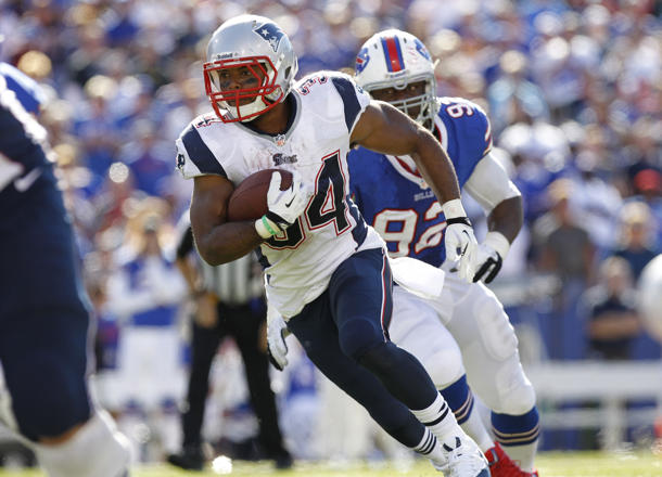 Patriots running back Shane Vereen played with broken bone in w…