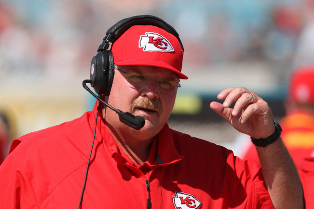 Does Andy Reid still wish he was in Philadelphia? Jamaal Charle…