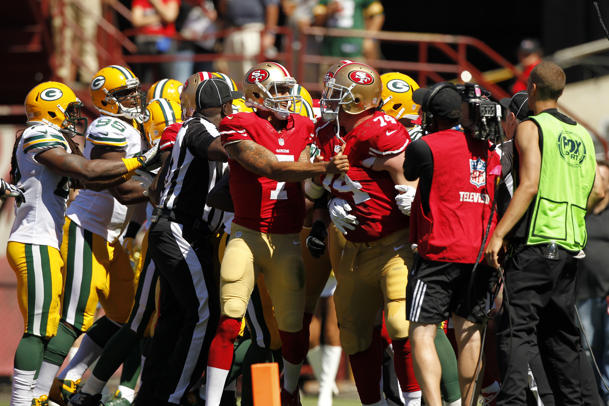 NFL referee admits to mistake during Packers loss to 49ers