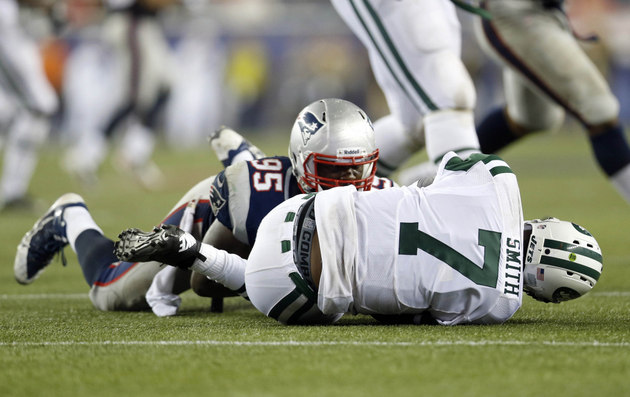 New England Patriots beat New York Jets in sloppy game that tur…