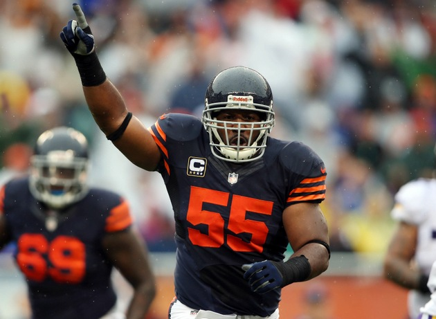 Bears take another hit as Lance Briggs will miss 4-6 weeks with…