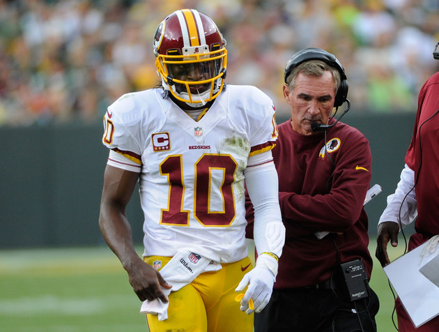 If Mike Shanahan benches RGIII, Redskins owner Daniel Snyder wo…