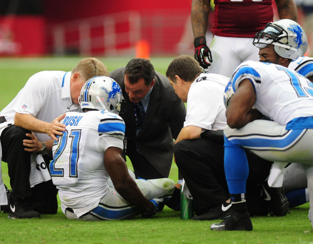 Detroit Lions get good news on Reggie Bush's knee: no structura…