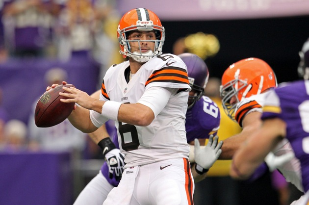 Brian Hoyer does in first half what Brandon Weeden wishes he co…